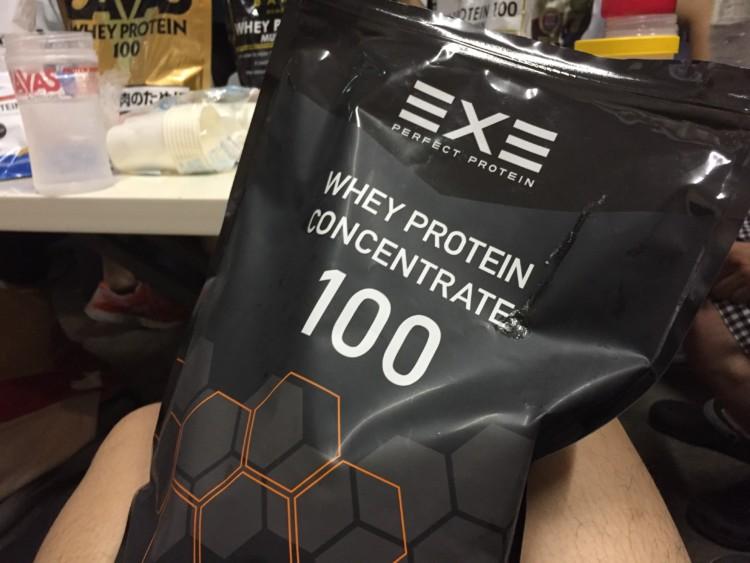 EXE(エグゼ) パーフェクトプロテイン ホエイプロテイン100 ナチュラル
